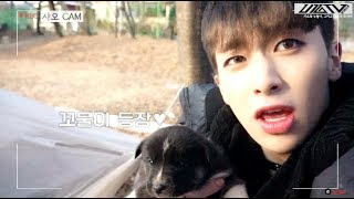 U10TV ep 181 - 샤오와 누렁이, 그리고 꼬물이 네 마리 UP10TION Offici...