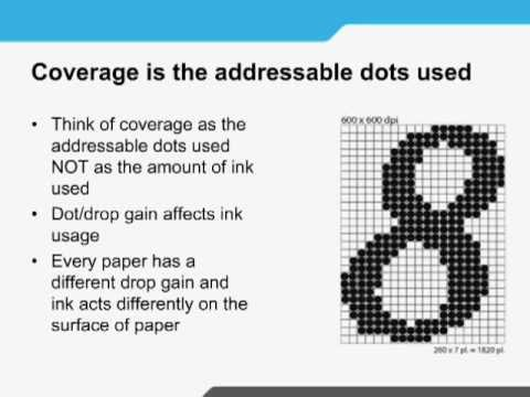 Calculating Ink Cost & Coverage Webcast -- Presented by Canon Solutions America