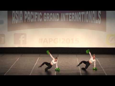 2015 PDC Asia Pacific Grand Internationals Gold Coast - Open Pom Duo Kiri & Lori 1st Place
