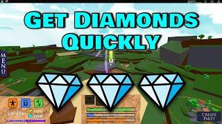 How To Get DIAMONDS Quickly! | Elemental Battlegrounds Roblox