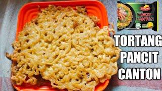 TORTANG PANCIT CANTON! | NAG LEVEL UP NA! | FRIED PANCIT CANTON! | JOY NERIT RECIPE!