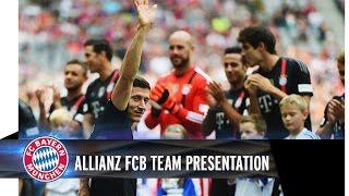 #FCBDay1 - Allianz FC Bayern Team Presentation