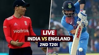LIVE | India vs England 2nd T20 |Jan 29, 2017