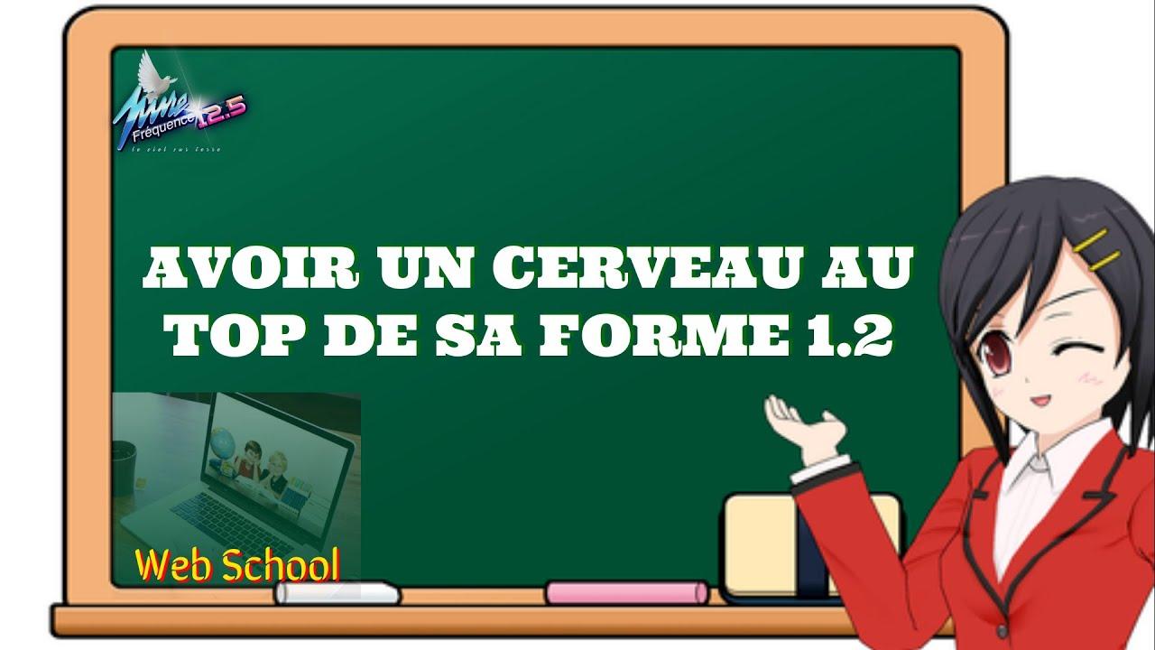 WEB SCHOOL : AVOIR UN CERVEAU AU TOP DE SA FORME 1.2