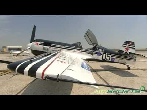Aero GP pilot, Andy Bickmore, speaks about Sukhoi SU26