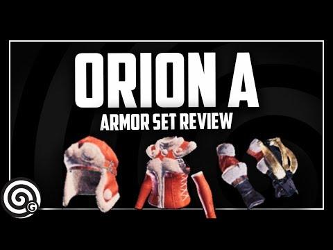 Orion Alpha - Armor Set Review | Monster Hunter World