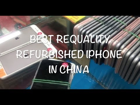Best quality  refurbished Iphone with cheapest in Shenzhen Huaqiangbei  wholesale market