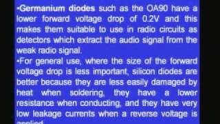 Lecture - 6 Semi Conductor Diodes