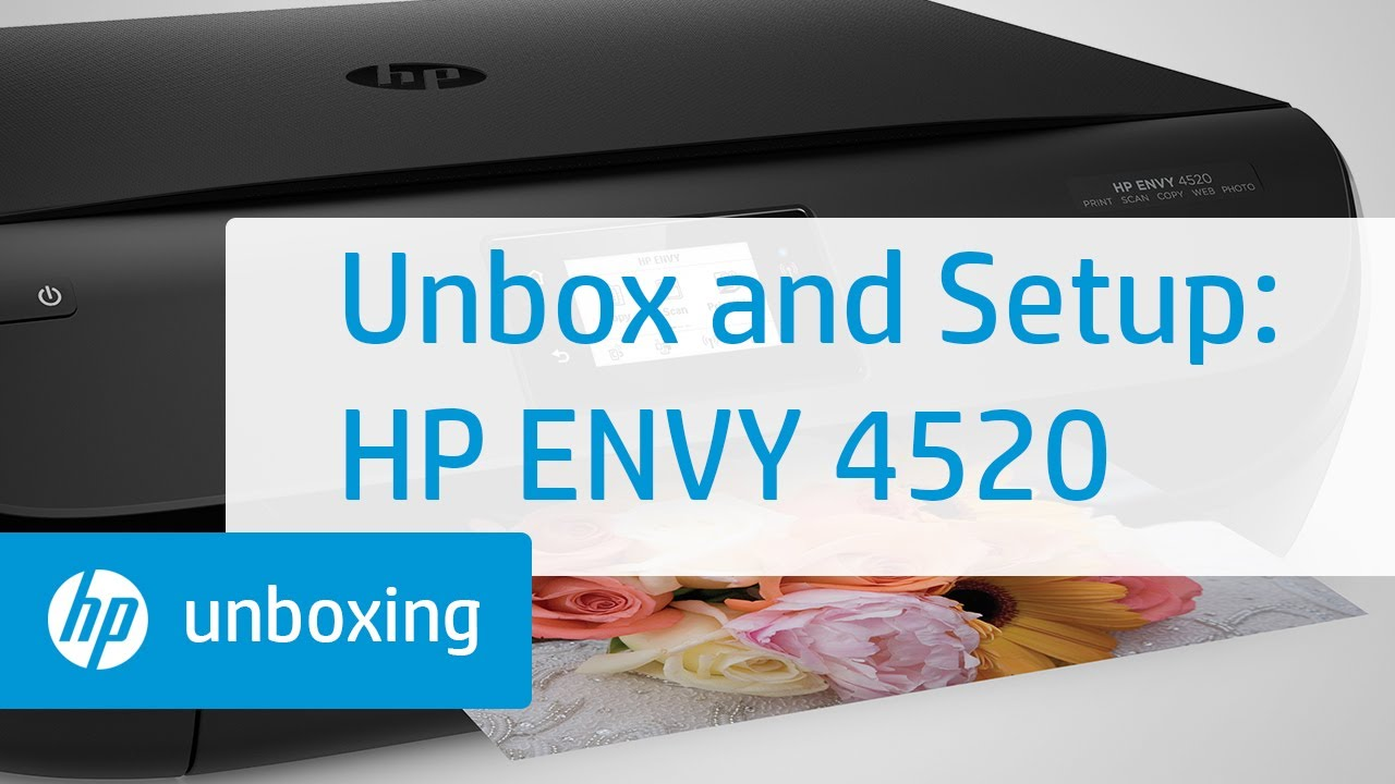 hp envy 4520 ink