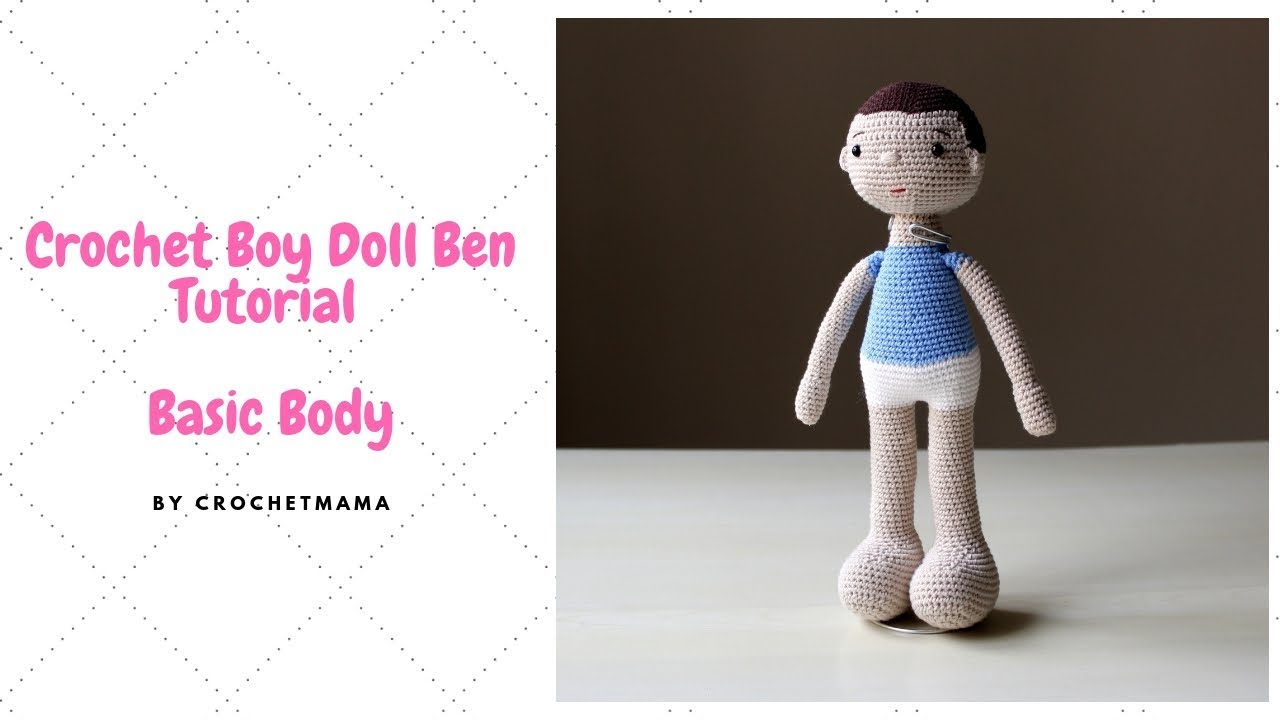 How to Crochet Tutorial: Mermaid Doll Amigurumi Chibi (quick and ... | 720x1280