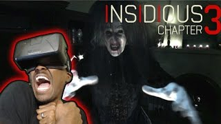I ALMOST CRIED || Insidious Chapter 3: Into The Further Reaction || Oculus Rift DK2 (2015)