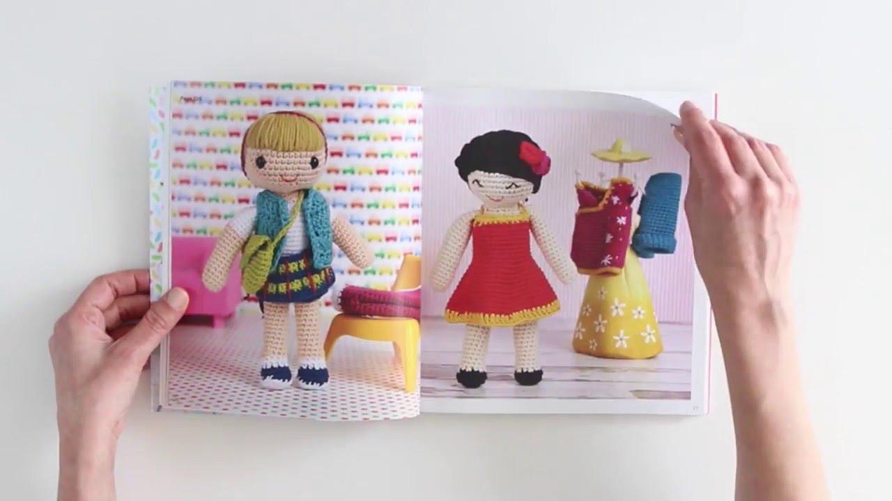 Amigurumi Doll Book : Flip through book amigurumi dolls youtube