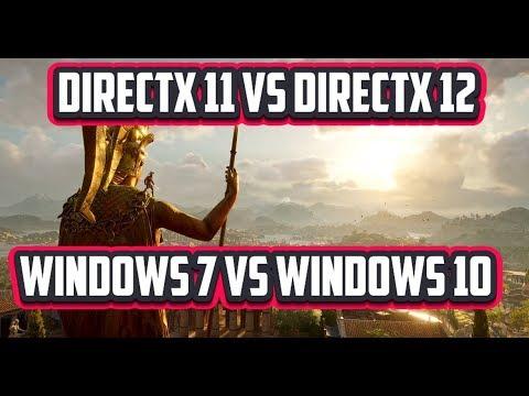 Windows 7 Уже не тащит игры? сравнение производительности с W10