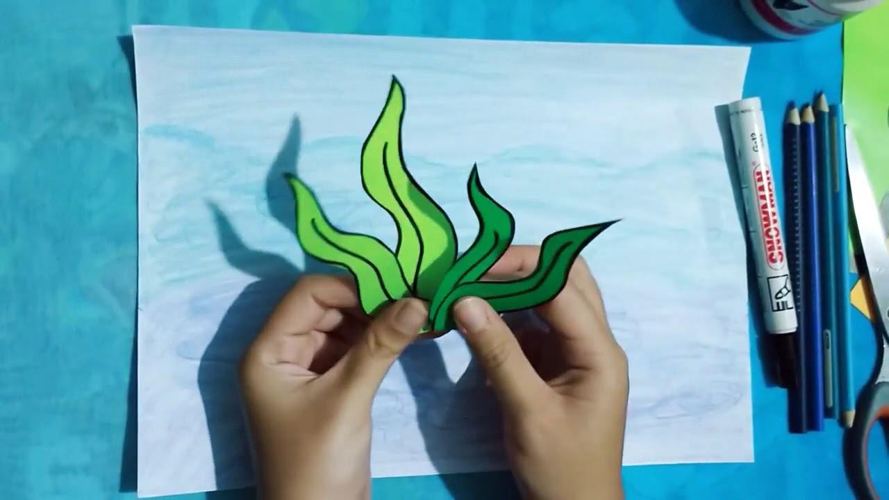 Background laut origami   YouTube