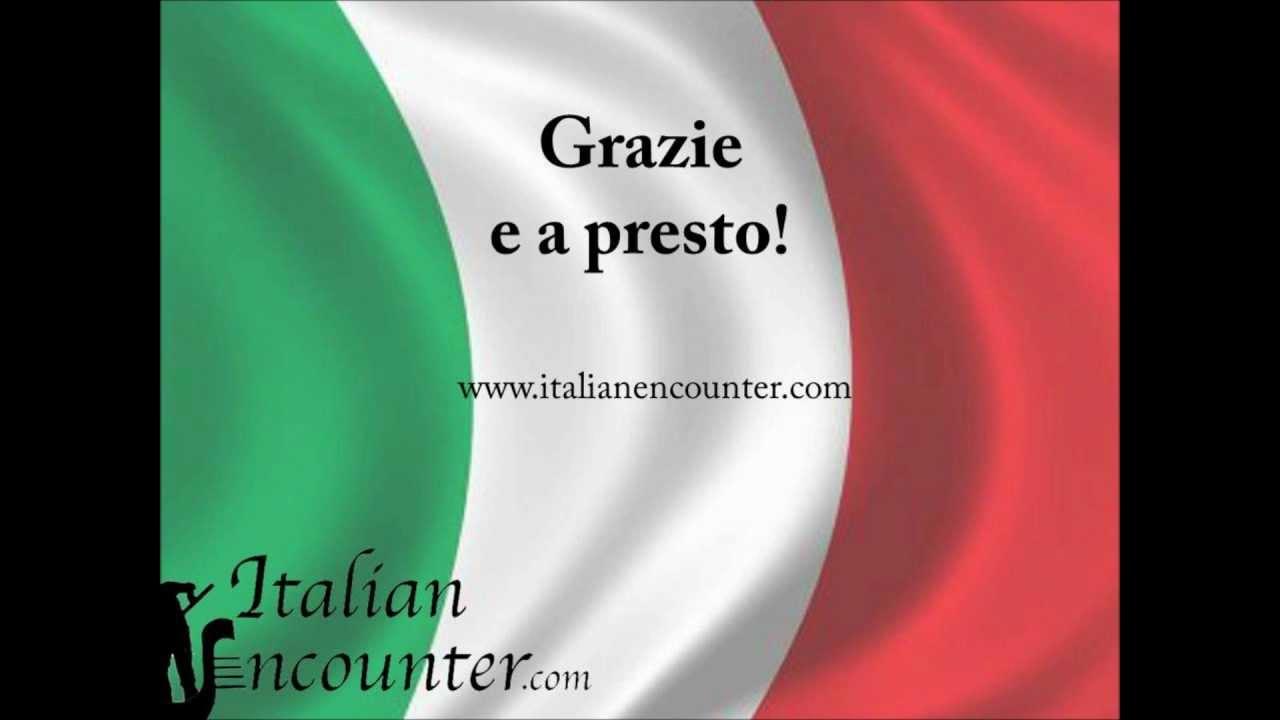 Italian Greetings Youtube