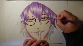 Kabuto Yakushi (Sage Mode) - Speed Drawing - Naruto Shippuden