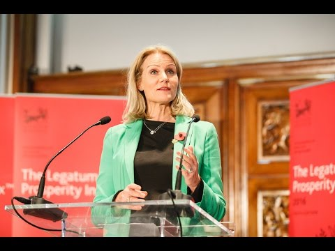 Launch of the 2016 Legatum Prosperity Index with Helle Thorning-Schmidt