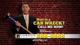 Alexandria Car Wreck | Brick Wall | Get Gordon! Get it Done!