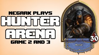 Gambar cover Negark Plays Hearthstone Hunter Arena Gameplay Part 2 - Game 2 and 3