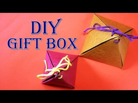 DIY Christmas Sweet Box | Easy To Make Gift Box  - Craft Basket