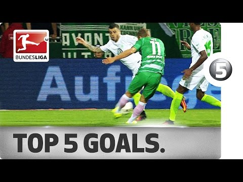Top 5 Goals - Chicharito, Osako and More with Sensational Strikes