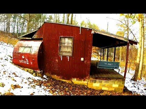 Abandoned Camper Turned Into Tiny House Youtube