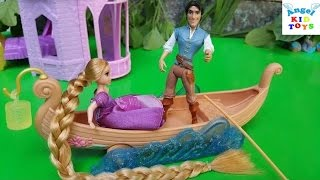 Cuộc sống gia đình Rapunzel Rapunzel's Boat Ride Episode 6