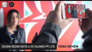 Xiaomi Redmi Note 4 VS Huawei P9 Lite / Camera & Speed Test (Greek)