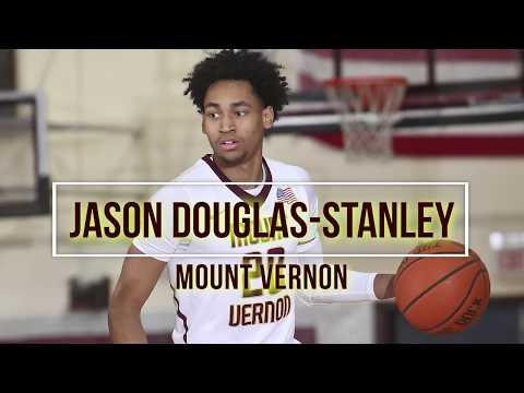 2018 Mr. Basketball: Jason DouglasStanley, Mount Vernon