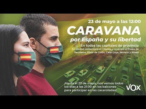 Descomunal éxito de la manifestación: Bocinazos de coches por todo Madrid