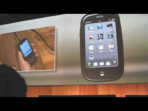 Palm Pre and webOS CES DEMO