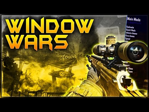 BLACK OPS 2 WINDOW WARS WITH MODS!