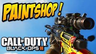 Call of duty Black Ops 3 : PAINTSHOP (créateur de camouflage) COD BO3 PS4