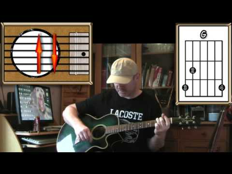 Wind Beneath My Wings - Bette Midler - Acoustic guitar Lesson (easy)