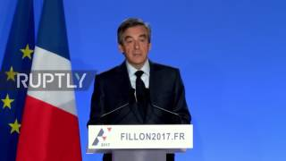 France  Fillon says he will not 'resign' or 'retire' from presidential race