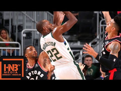 Toronto Raptors vs Milwaukee Bucks Full Game Highlights | 10.29.2018, NBA Season