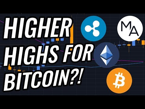 Higher HIGHS Coming In Bitcoin & Crypto Markets?! BTC, ETH, XRP, Cryptocurrency & Stocks News!