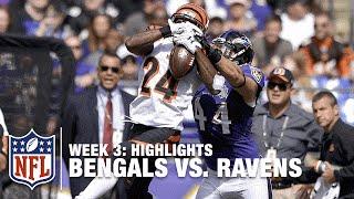 Bengals vs. Ravens | Week 3 Highlights | NFL