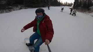 Горнолыжный курорт Красное озеро Ленинградская область Сноуборд сезон открыт