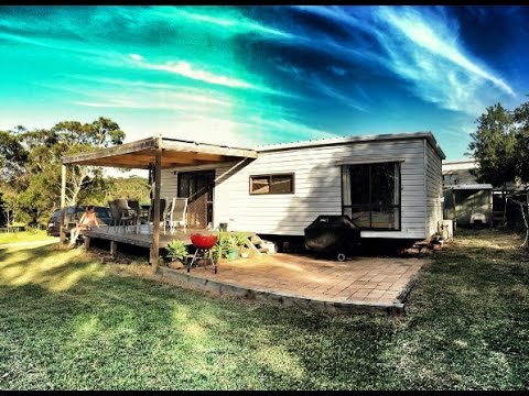 Tiny House Tour Our Cabin In The Australian Bush Youtube