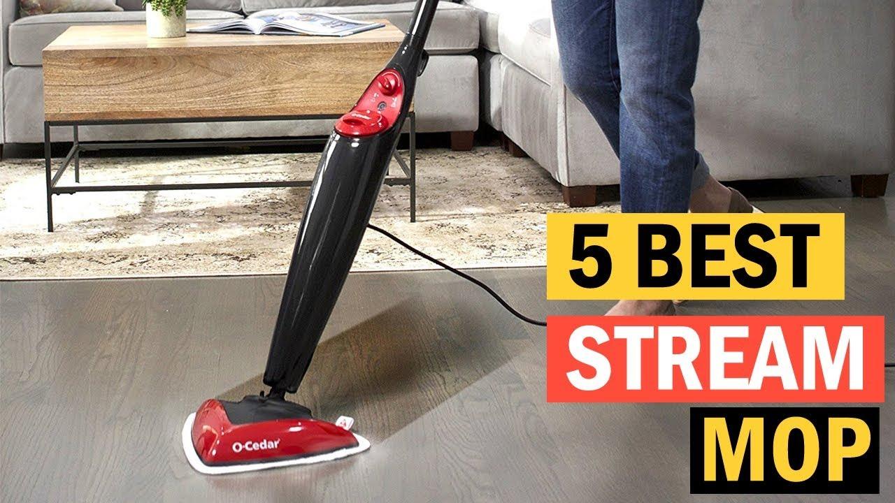 5 Best Stream Mop For Hardwood Floors  Best Steam Cleaner