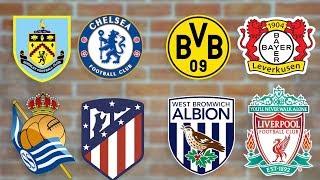 Бернли - Челси | Реал Сосьедад - Атлетико | Боруссия - Байер | Вест Бромвич - Ливерпуль