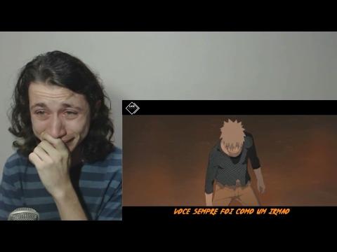 React Brasil reage a LUIZ BEATER Naruto vs Sasuke