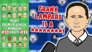 🤬LAMPARD IS A ****!🤬 #22 Every Premier League Manager Reacts! 19/20