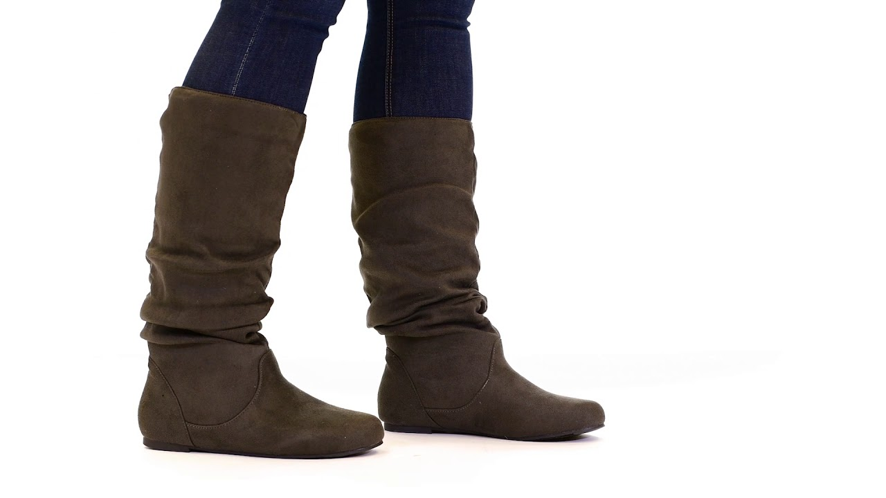 34e18f870da7 Shop Journee Collection Womens 'Rebecca-12' Slouch Knee-High Boot - Free  Shipping On Orders Over $45 - Overstock - 3830685