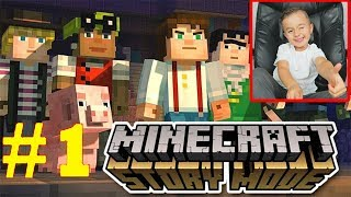 Minecraft Story Mode Walkthrough - Protect the PIG