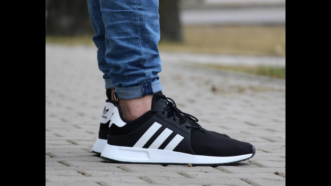 adidas x_plr with jeans