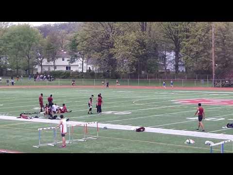 NPHS @Bound Brook High School Girls 400m