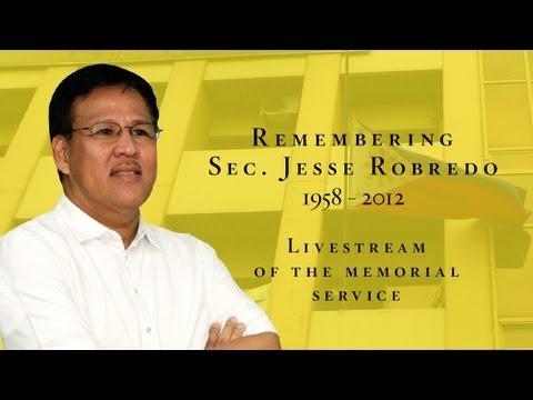 State Funeral for Sec. Jesse Robredo