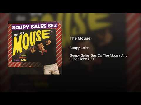The Mouse (1962) - Performed by Soupy Sales - Trade Martin on Guitar